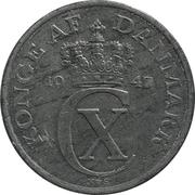 2 Øre - Christian X (German Occupation) -  obverse
