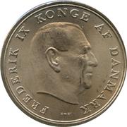 5 Kroner - Frederik IX -  obverse