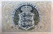 50 Kroner (Heilmann type III) – reverse