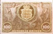 100 Kroner (Heilmann type III) – reverse