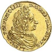 ½ Ducat - Friedrich IV – obverse