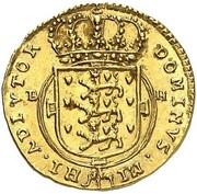 ½ Ducat - Friedrich IV – reverse
