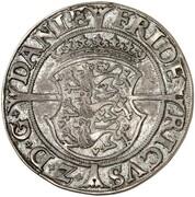 1 Skilling Dansk - Frederik II (Copenhagen mint) – obverse