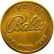 Token - Bally Polet – obverse