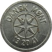 25 Spillemærke - Indløses Ikke (Dansk Mønt 13 20 41) – obverse