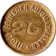 25 Øre - Tivoli Friheden Automathallen – obverse