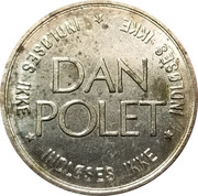 Amusement Token - Dan Polet – reverse