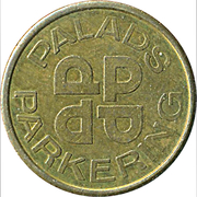 Parking Token - Palads Parkering – reverse