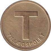 Transport Token - Hovedstadsomradets Trafikselskab (Copenhagen) – reverse