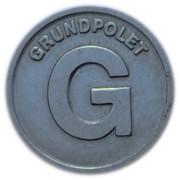 Token - Hovedstadsområdets Trafikselskab Grundpolet (Copenhagen) – reverse