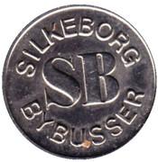 Token - Silkeborg Bybusser – reverse