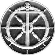Medal - Kong Frederik IX & Arveprins Knud – reverse