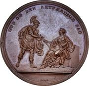 Medal - Attack on Copenhagen (Bronze issue) – obverse