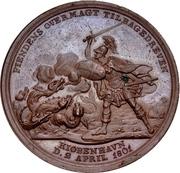 Medal - Attack on Copenhagen (Bronze issue) – reverse