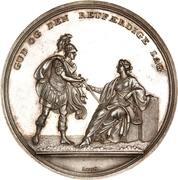 Medal - Attack on Copenhagen (Silver issue) – obverse