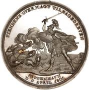 Medal - Attack on Copenhagen (Silver issue) – reverse