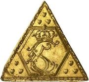 Medal - Christian V (Coronation; gold issue) – obverse