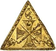 Medal - Christian V (Coronation; gold issue) – reverse