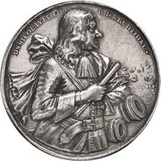 Medal - Admiral Niels Juel, hero of Danish Navy – obverse