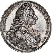 Medal - Frederik IV (Death of King) – obverse
