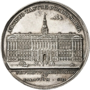Medal - New Christiansborg Palace – obverse