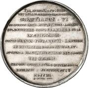 Medal - New Christiansborg Palace – reverse