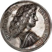 Medal - Christian V (Battle of Øland) – obverse