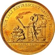 Medal - Frederik V (Wedding with Julianne Marie; gold issue) – reverse