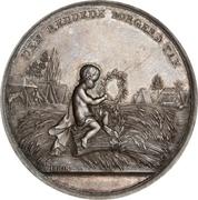 Medal - The fire of Copenhagen (Silver) – obverse