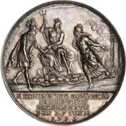 Medal - The fire of Copenhagen (Silver) – reverse