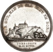 Medal for the Reformation Anniversary (Type 5) – reverse