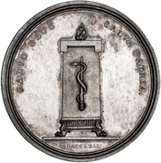 Medal - Frederik VI (Recovery from disease) – reverse