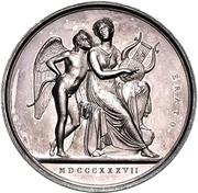 Medal - Albert Thorvaldson – reverse
