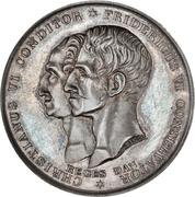 Medal - Frederik VI (Christianeums in Altona) – obverse
