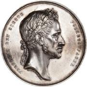 Medal - Frederik VI (King's death; silver issue) – obverse
