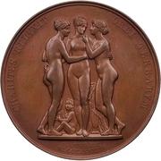 Medal - Albert Thorvaldsen – reverse