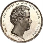 Medal - Christian VIII (Beginning of Reign) – obverse