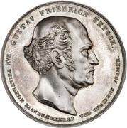 Medal - Gustav Hetsch career anniversaries – obverse
