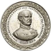 Medal - General Olaf Rye – obverse