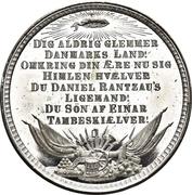Medal - General Olaf Rye – reverse