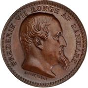 Award medal - Frederik VII (For War service) – obverse