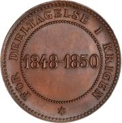 Award medal - Frederik VII (For War service) – reverse