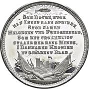 Medal - Commander Hans Helgesen – reverse