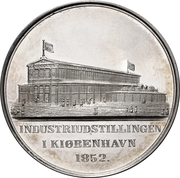 Medal - Frederik VII (Industrial Exhibition) – reverse