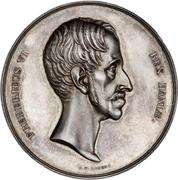 Medal - Frederik VI (Reform anniversary; silver issue) – obverse