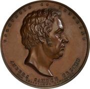 Medal - Anders Sandøe Ørsted (Career anniversary) – obverse