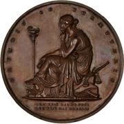 Medal - Anders Sandøe Ørsted (Career anniversary) – reverse