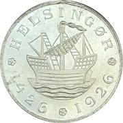 Medal - 500 years of Kronborg castle – reverse