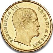 1 Frederik d'Or  - Frederik VII – obverse