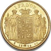 1 Frederik d'Or  - Frederik VII – reverse